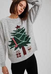DeFacto - CHRISTMAS JUMPER - Jumper - grey - 3