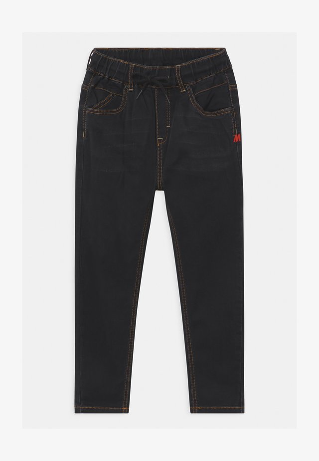 PELLE UNISEX - Pantalones montañeros largos - jet black
