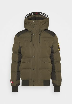 CANADA TURVO PUFFER - Zimní bunda - khaki