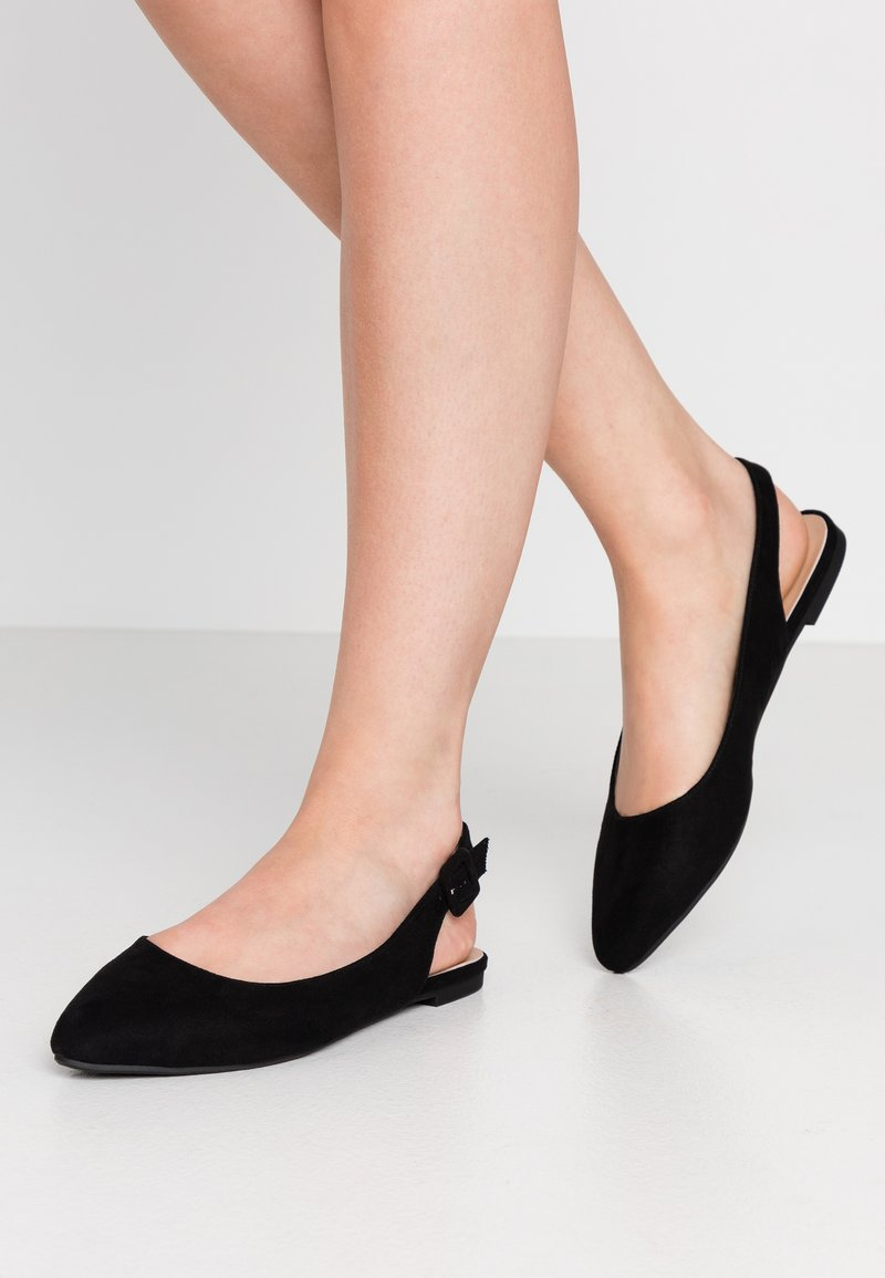 Anna Field - Slingback ballet pumps - black