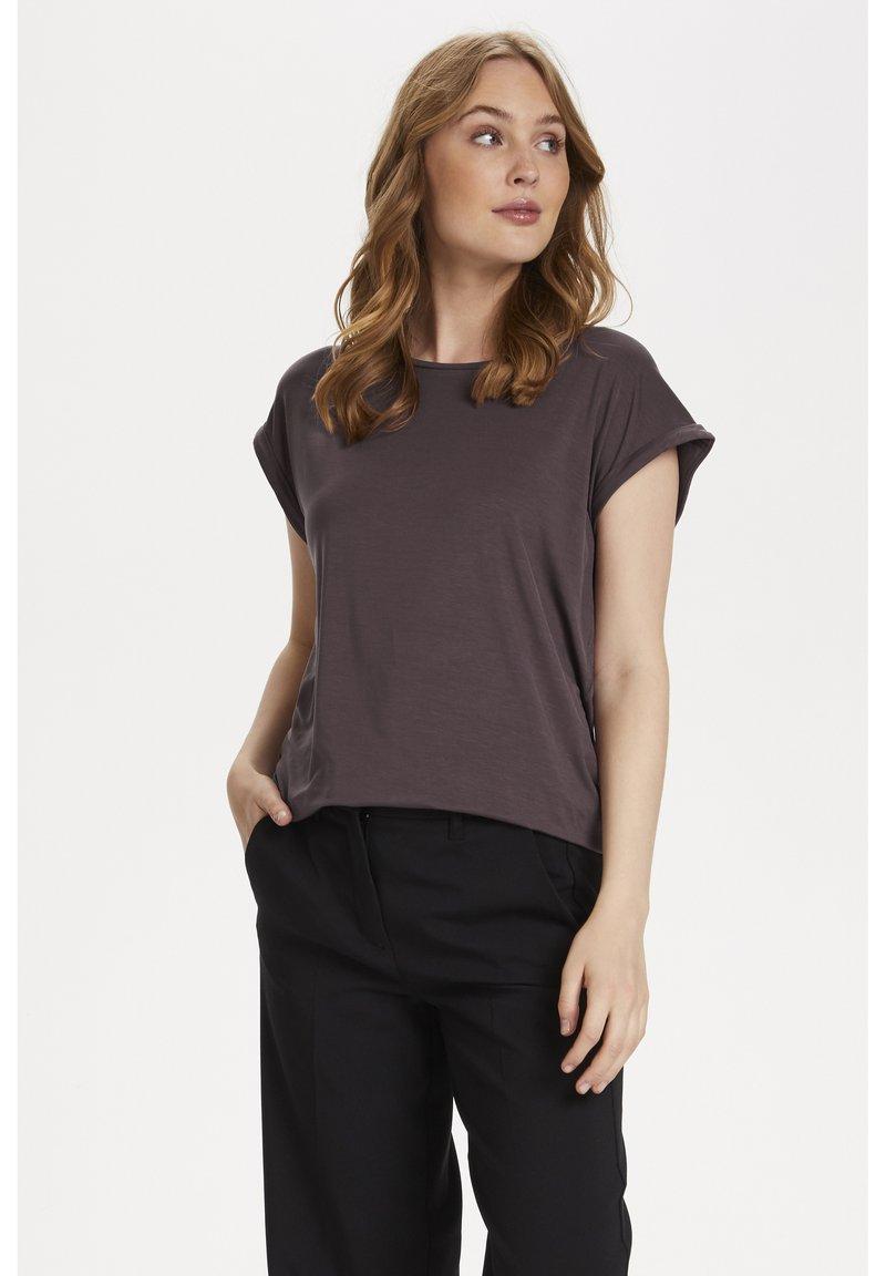 Saint Tropez - ADELIA - Basic T-shirt - huckleberry