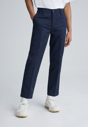 XX CHINO STR CROP II - Chinos - baltic navy