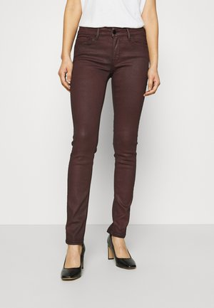 NEW LUZ - Jeans Skinny Fit - bordeaux red