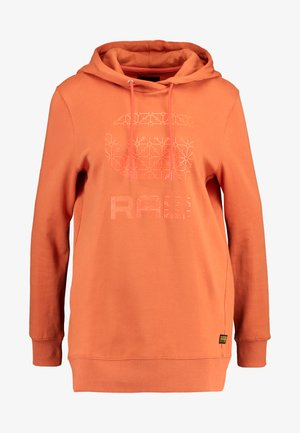 BOYFRIEND TONE - Hoodie - dusty royal orange