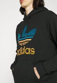 adidas Originals - OMBRE UNISEX - Sweatshirt - black - 4