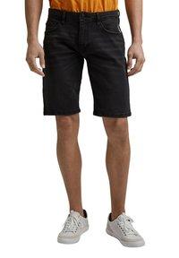 edc by Esprit - Denim shorts - black dark washed - 4