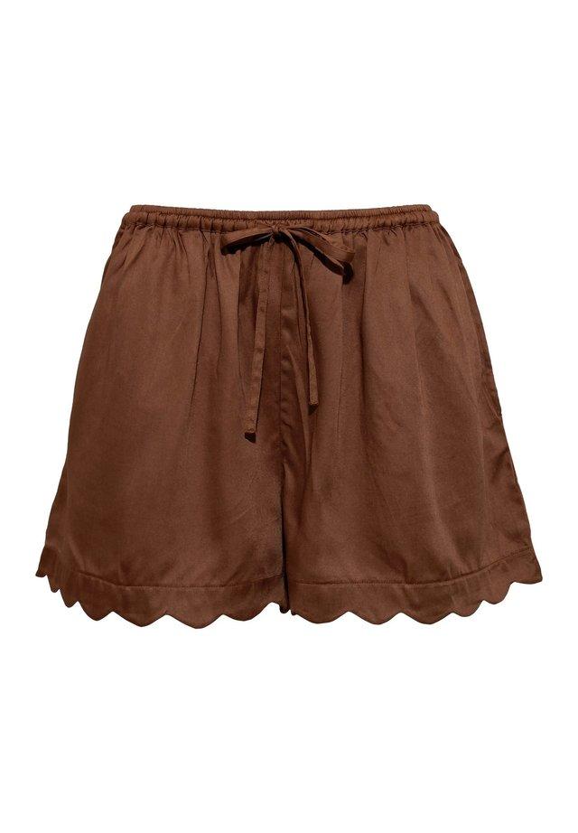 Pantaloni del pigiama - brown