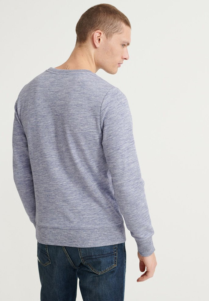For Billig Original Tøj til herrer Superdry Sweatshirts mist blue space dye VLeCmR VdewOo