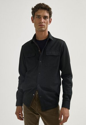 WITH POCKETS - Light jacket - dark grey