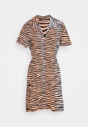 Shirt dress - apricot
