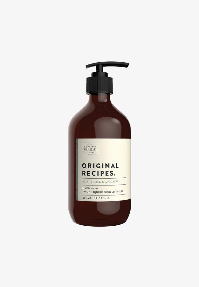 GOATS MILK   AVOCADO HAND WASH PUMP FLASCHE 500 ML - Hand cream - -