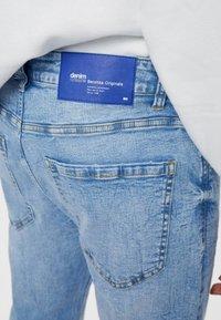 Bershka - Jeans slim fit - blue denim - 3