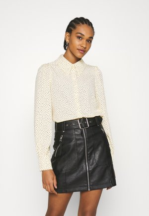 NALA BLOUSE - Button-down blouse - light yellow