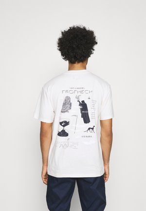 UPCOMING PROPHECY UNISEX - Printtipaita - whisper white