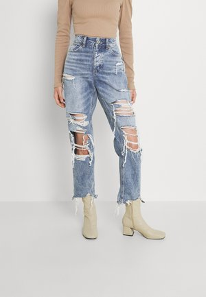TOMGIRL - Jeans relaxed fit - destroy is a thing