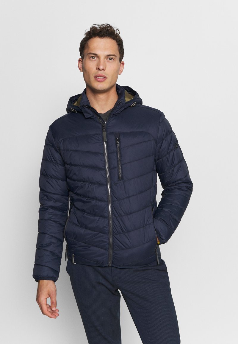 camel active - WITH HOODY - Lehká bunda - navy