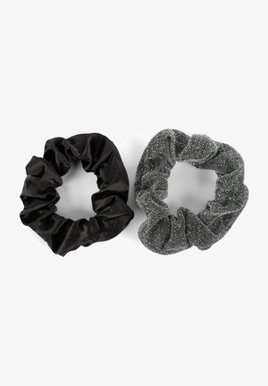 2 PACK - Hair styling accessory - schwarz/silber