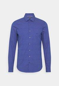 Calvin Klein Tailored - PRINTED EASY CARE SLIM - Shirt - sodalite blue - 0