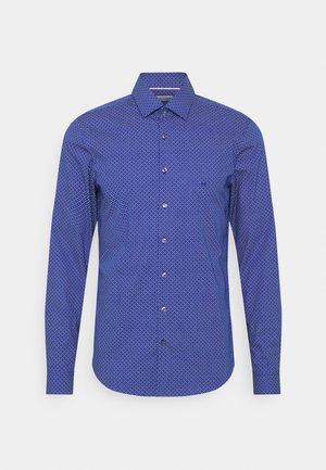 PRINTED EASY CARE SLIM - Overhemd - sodalite blue
