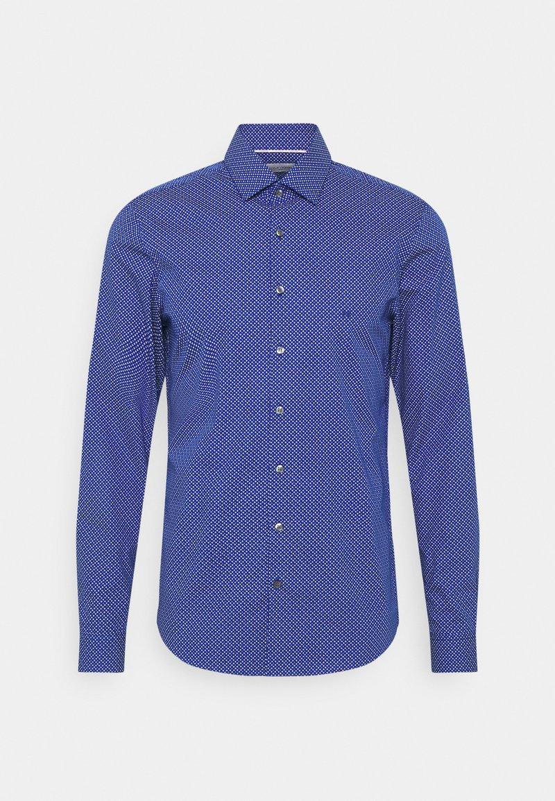 Calvin Klein Tailored - PRINTED EASY CARE SLIM - Shirt - sodalite blue