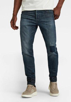 SCUTAR 3D  - Jean slim - worn in hale navy restored