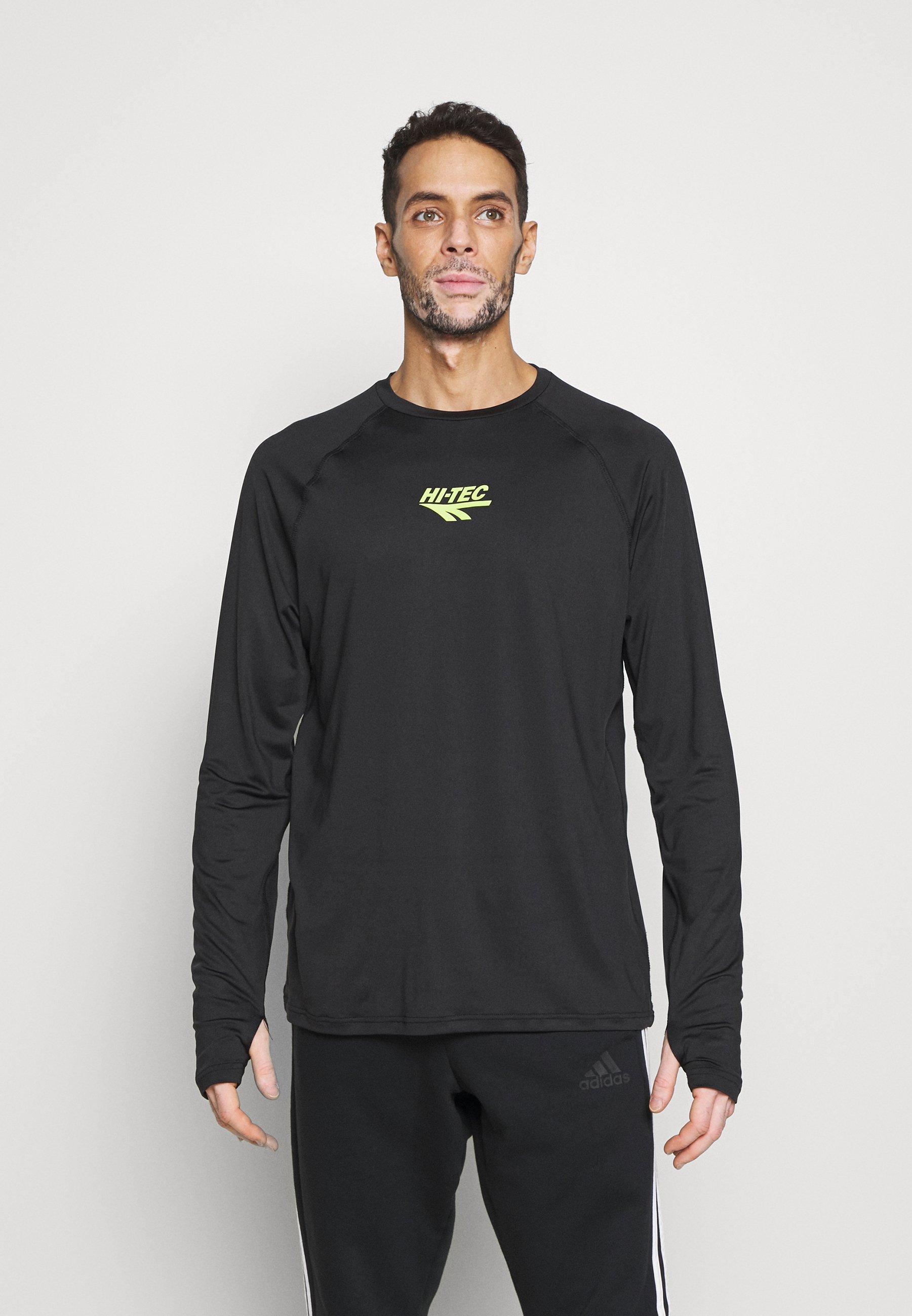 Men FRANK BASIC LOGO TEE - Long sleeved top