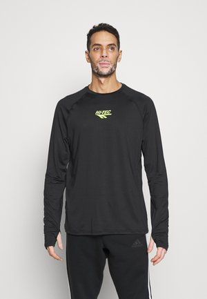FRANK BASIC LOGO TEE - Long sleeved top - black