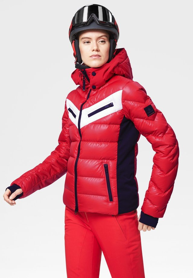 FARINA - Veste de ski - red
