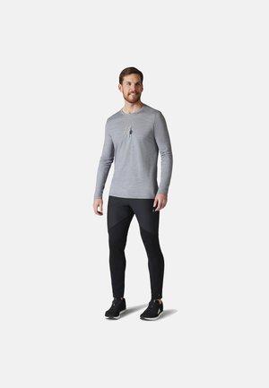 LIGHTWEIGHT SPORT 150 SMARTWOOL LOGO GRAPHIC TEE - Long sleeved top - light gray heather