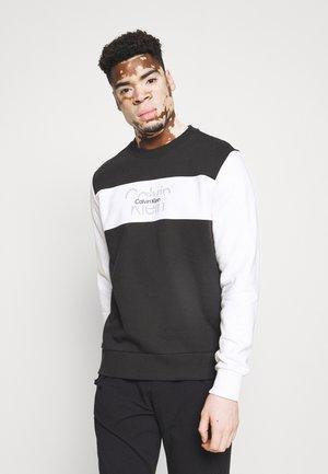 COLORBLOCK UNISEX - Sweatshirt - black