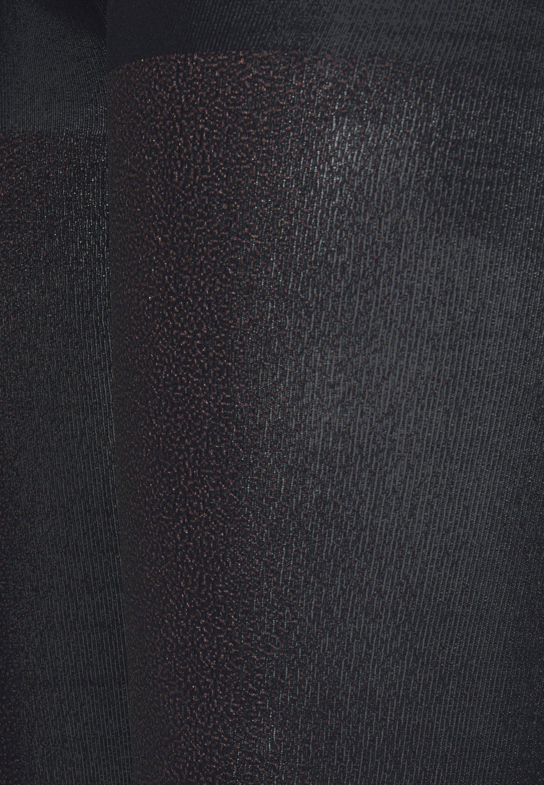 Women FALKE TARNISH 100 DENIER LEGGINGS BLICKDICHT GROB SCHWARZ - Leggings - Stockings