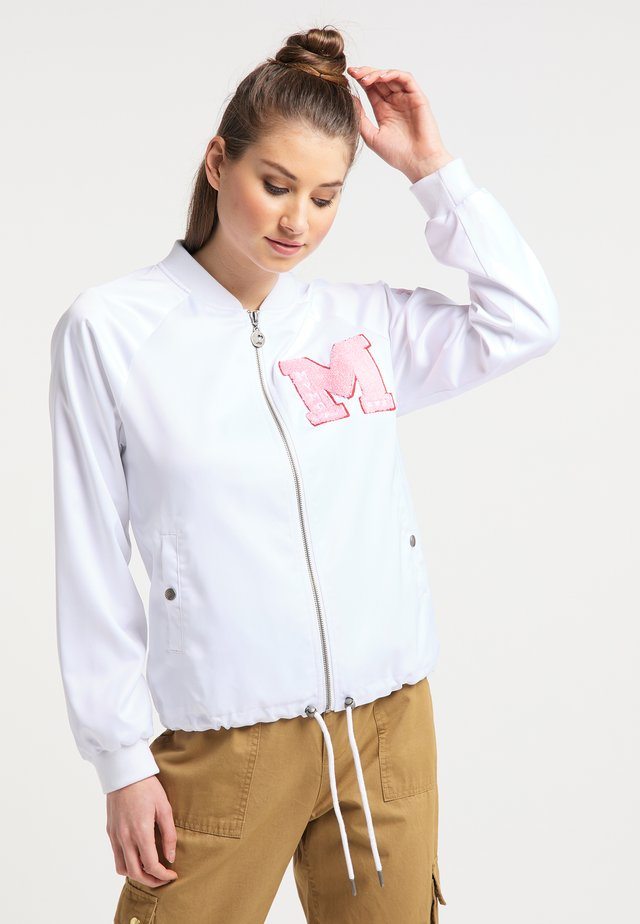 Chaquetas bomber - weiss