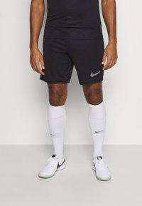 Nike Performance - SHORT - Sports shorts - black/white - 0