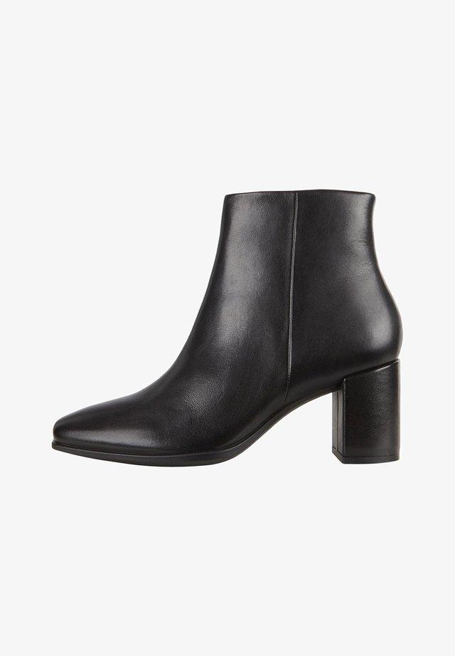 SHAPE SQUARED - Korte laarzen - black