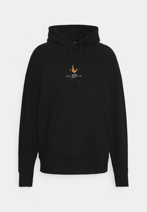 BUTTERFLY HOOD UNISEX - Sweater - black