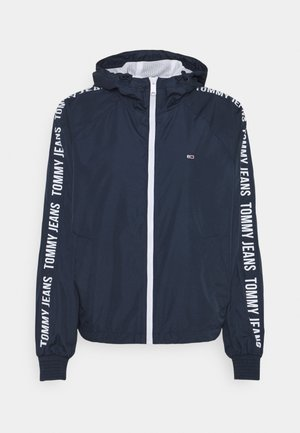 TAPE SLEEVE  - Summer jacket - twilight navy