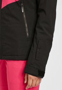 O'Neill - APLITE - Snowboard jacket - black out - 4