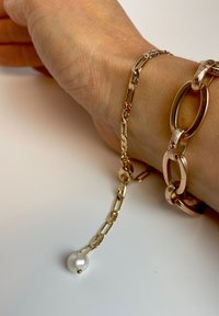 LOLA - FIGARO MIT ECHTER PERLE - Bracelet - gold - 0