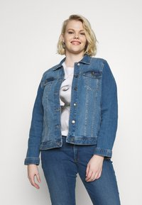 MY TRUE ME TOM TAILOR - Denim jacket - blue denim - 1
