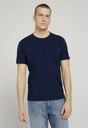 T-shirt - bas - sailor blue