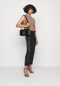 Pinko - TORRONE PANTALONE  - Trousers - black - 1