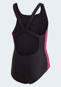 adidas Performance - GIRLS TAPERED SWIMSUIT - Swimsuit - black - 5