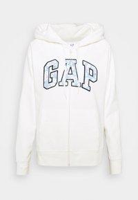 GAP - NOVELTY - Zip-up hoodie - milk - 0