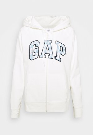 NOVELTY - Zip-up hoodie - milk