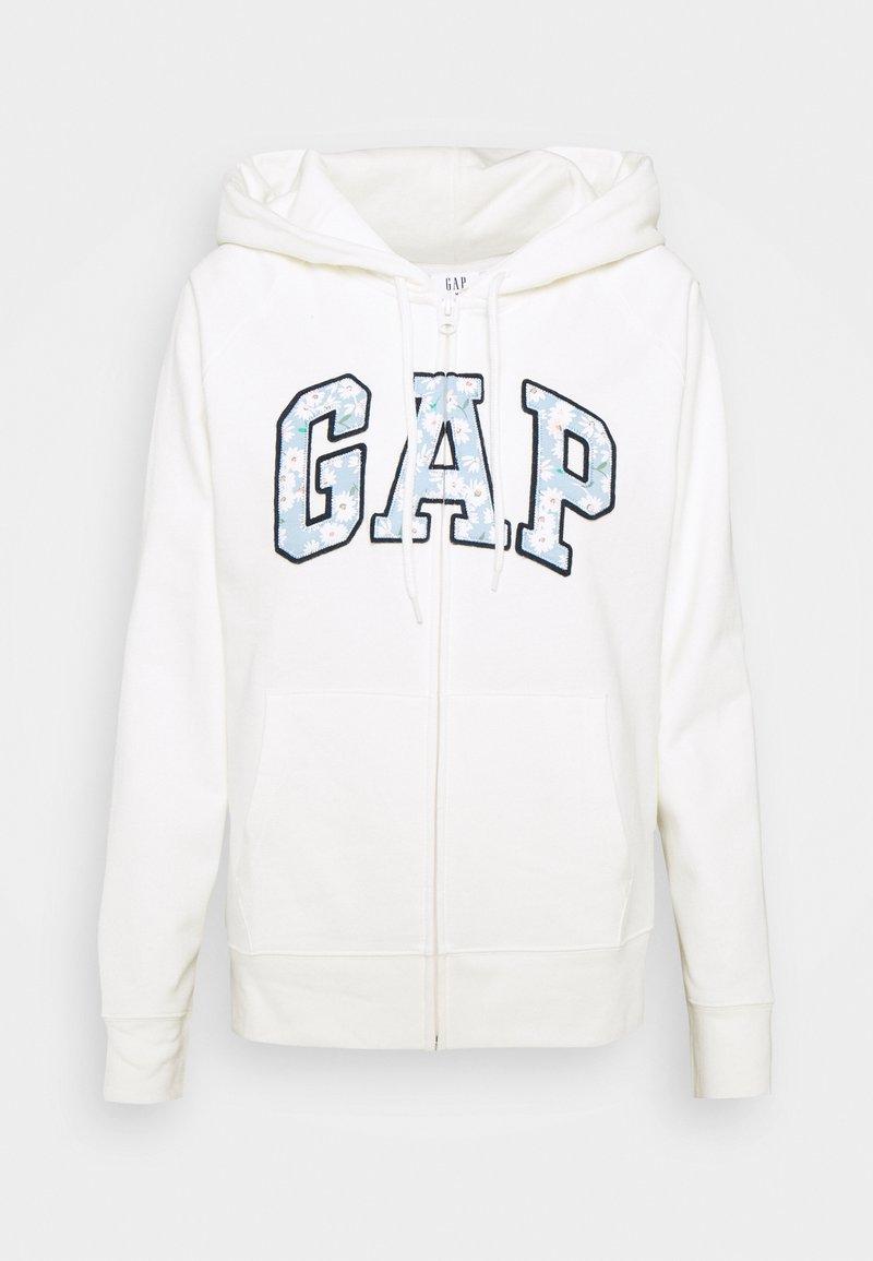 GAP - NOVELTY - Zip-up hoodie - milk