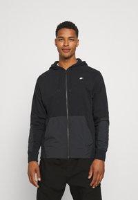 Nike Sportswear - HOODIE - Tröja med dragkedja - black - 0