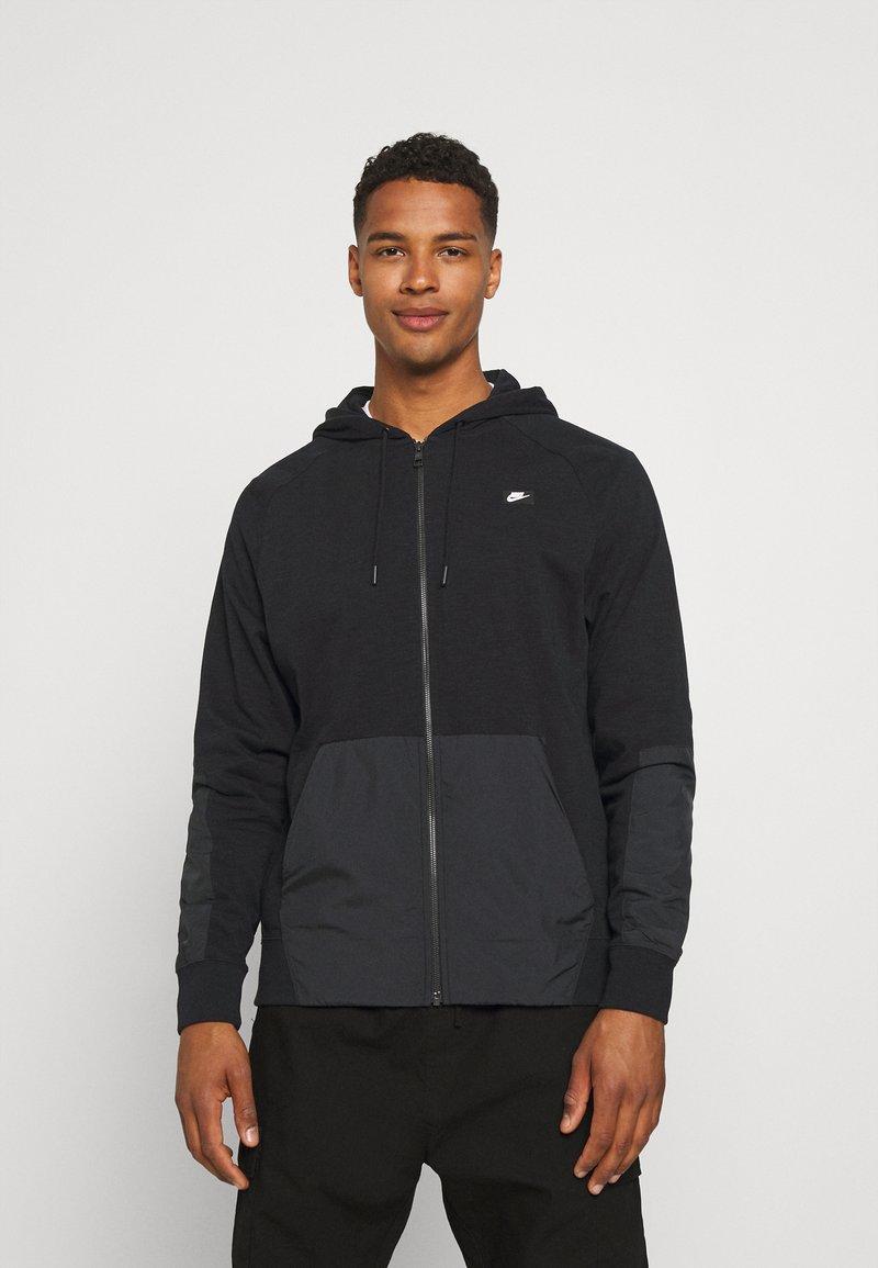 Nike Sportswear - HOODIE - Tröja med dragkedja - black