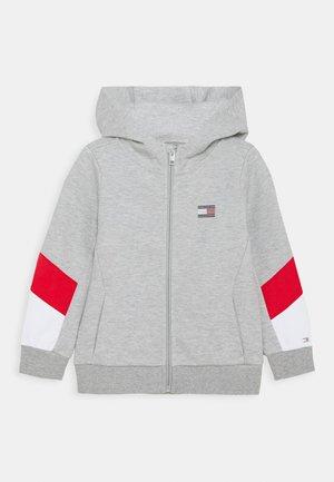 SPORT COLORBLOCK ZIP THROUGH - Zip-up hoodie - grey