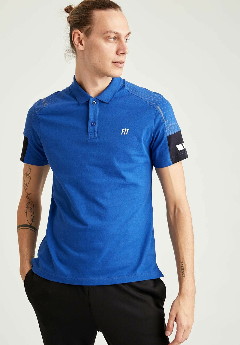 DeFacto Fit - Polo - blue