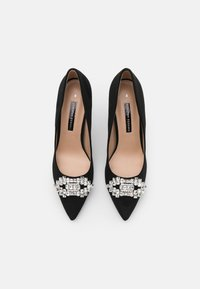 Dorothy Perkins - DELSEA TRIM POINT COURT - Classic heels - black - 5